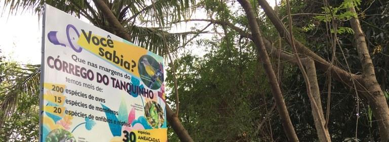 Daae participa da Semana Lixo Zero com ações no Córrego Tanquinho
