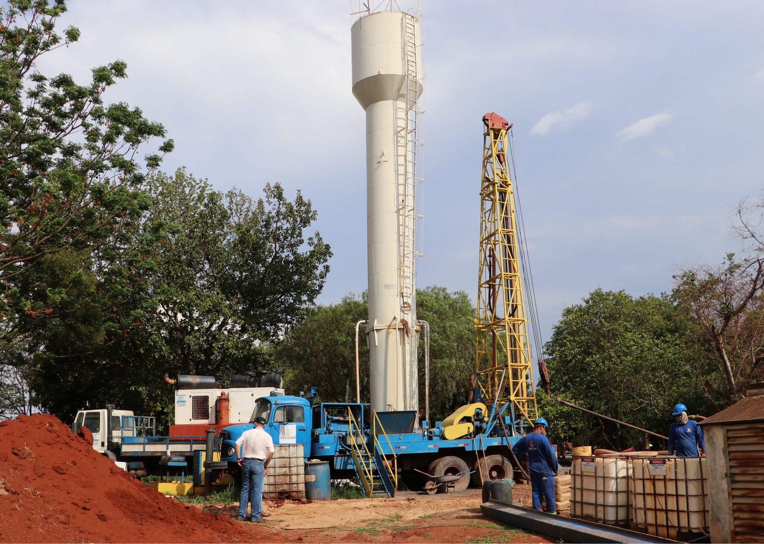 Daae realiza perfuração de novo poço no Assentamento Bela Vista