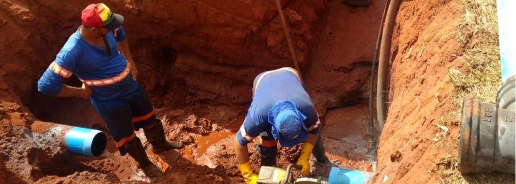 Serviço emergencial na Vila Suconasa (21/01)
