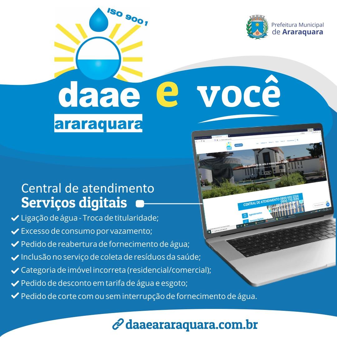 Parceria entre Daae e SinHores realiza divulgação dos serviços digitais