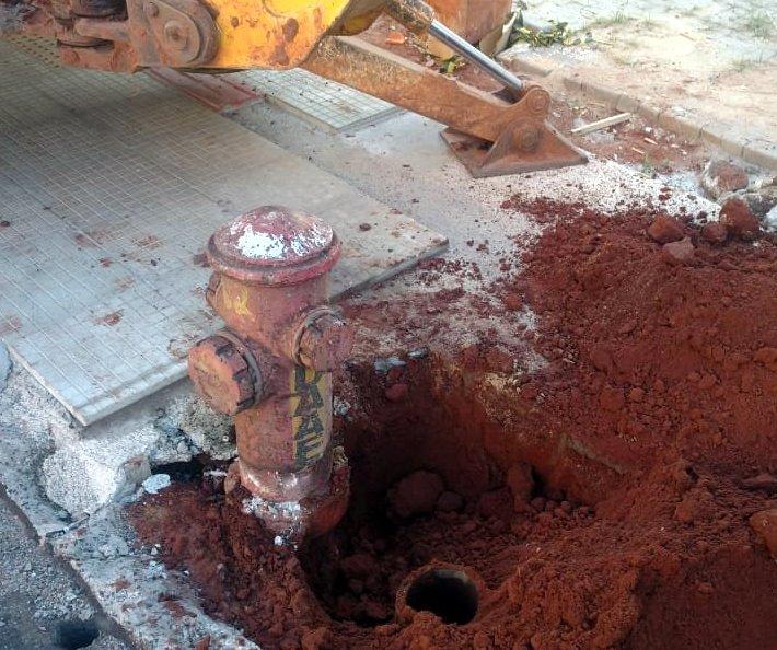 Daae substitui hidrante no Santa Angelina (29/07)
