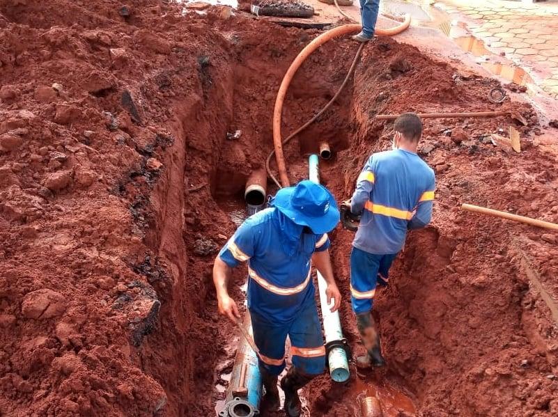 Serviço emergencial no Cidade Jardim (20/09)